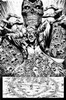 Untold tales of Blackest Night Animal Man Page 6, Comic Art