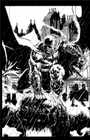 Batman Pinup by Jason Fabok, Comic Art