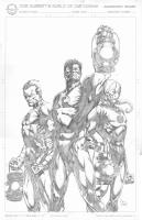 Lanterns- Sinestro, Hal Jorden, Saint Walker, Comic Art