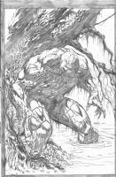 Swamp Thing Art, Comic Art