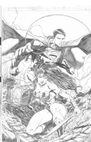 Justice League #14 Variant by Jason Fabok, Comic Art