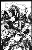 Batman: Dark Knight III Variant Cover by Jason Fabok, Comic Art