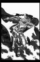 Batman Eternal 22 cover featuring Spoiler by Jason Fabok, Comic Art