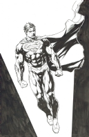Justice League 36 Superman character study-Jason Fabok, Comic Art