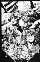 Justice League 44 Cover Darkseid War Jason Fabok, Comic Art
