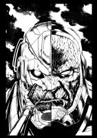Justice League 40 cover by Jason Fabok (darkseid, Anti-Monitor, Comic Art