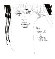 Horacio Altuna Conversacion / cuaderno de bocetos Comic Art