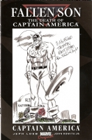 Allen Bellman - Captain America Comic Art