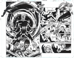 X-Factor #114 p.10-11 - Steve Epting Comic Art
