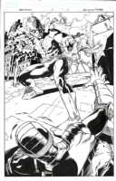 Heroes For Hire #3 p.12 - Iron Fist by Brad Walker Comic Art