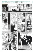 Daredevil #288 p.9 - Weeks & Williamson Hell's Kitchen Comic Art