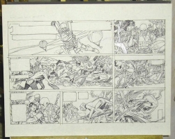 Gil Kane Tarzan Sunday Comic Art