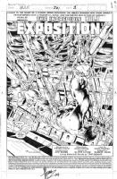 Hulk #381_title splash Comic Art