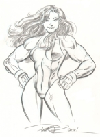 She-Hulk by Paul Pelletier Comic Art