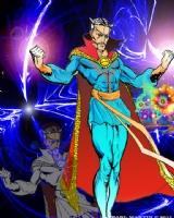 DR. STRANGE /EARL MARTIN, Comic Art