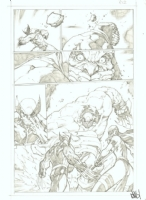 Savage Wolverine #7 pg 12 by Joe Madureira Comic Art