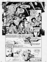 Ironwolf:Fires of the Revolution Comic Art
