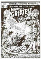 Marvel's Greatest Comics #58 Recreation Comic Art