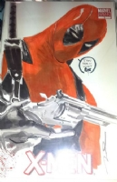 X-Men - Gerald Parel - Deadpool - CGC SS Comic Art