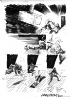 Lobster Johnson: The Iron Prometheus #2 pg 8 by Jason Armstrong Comic Art
