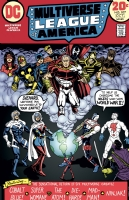 Justice League of America #107 Multiverse Homage - Colored Comic Art