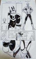 Avenging Spider-Man 12 page 8 by Aaron Kuder, Comic Art
