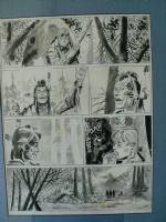 Ticonderoga, last page Comic Art