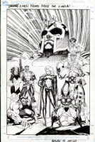 Jim Lee - X-Men #1 Promo Comic Art