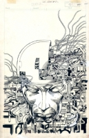 Barry Windsor Smith - Machine Man #2 Comic Art