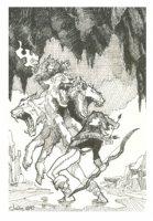 Hades prelim Comic Art