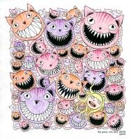 Josh Simmons - Cheshire Cat, Comic Art