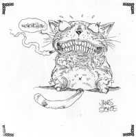 James Stokoe - Cheshire Cat, Comic Art