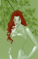 Heroes Con Auction: Poison Ivy Comic Art