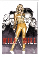 J.G.Jones Kill Bill Comic Art