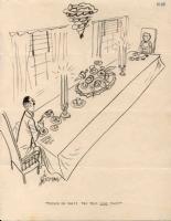 Dinner Date  by Vic Herman Comic Art