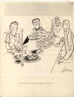 Shy Butler by Vic Herman Comic Art