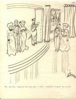 Debutante Ball by Vic Herman Comic Art
