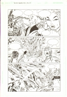 New Frontier #6 p. 23 Comic Art
