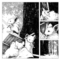 mouseguard # 1 page 06, Comic Art