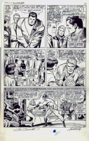 1966 JACK KIRBY JOE SINNOTT FANTASTIC FOUR #51 PAGE #12 ORIGINAL ART CLASSIC STORY Comic Art