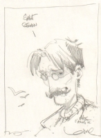 Regis Loisel: Serge dedicace, CTNX 2011 Comic Art