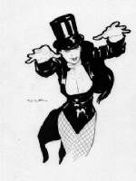 Ryan Sook: Zatanna, Hayward, CA 2005 Comic Art