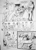 Deathstroke #29 pg.7 Comic Art