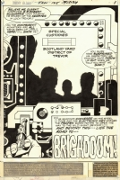 Jack Kirby Jimmy Olsen 145 page 1 splash... Comic Art