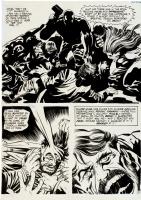 jack kirby, spirit world pg. 10 Comic Art