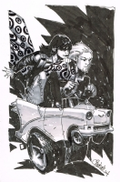 chris bachalo - shade  Comic Art