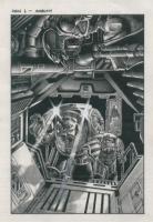 Kev Walker - Ambush Warhammer art Comic Art