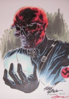 Red Skull by Steve Epting colored by Laura Martin Comic Art