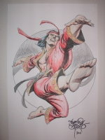 Shang Chi by Sergio Cariello Comic Art