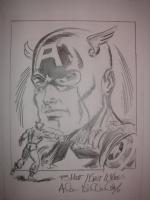 Captain America by Allen Bellman Comic Art
